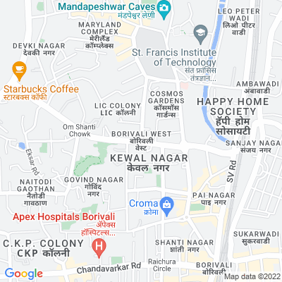 Office on rent in Kora Kendra, Borivali West