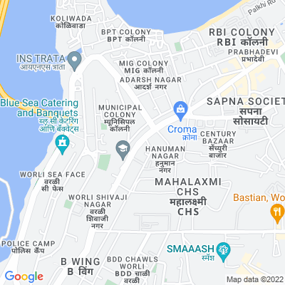 Flat for sale in omkar 1973 , Worli