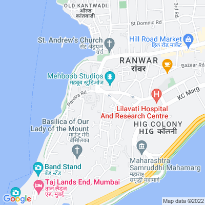 Flat on rent in Mount Mary Apartment, Bandra West