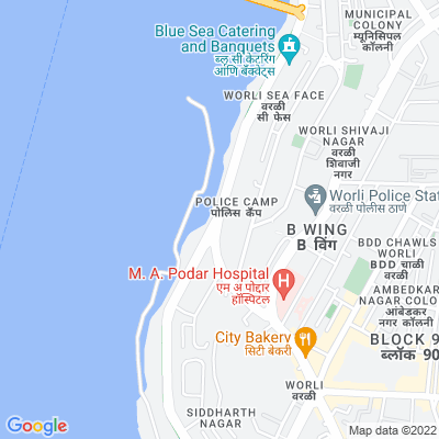 Flat on rent in Sagar Tarang, Worli