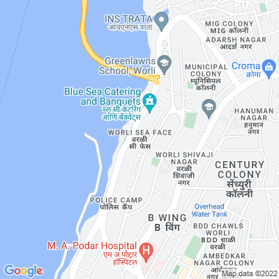 Flat on rent in The Cliff, Worli