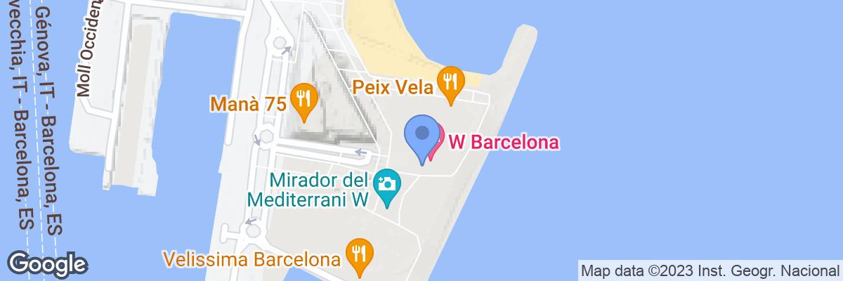 W Barcelona, Barcelona, 08039