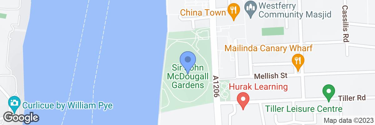 Sir John McDougall Gardens, Isle of Dogs, E14 3SS