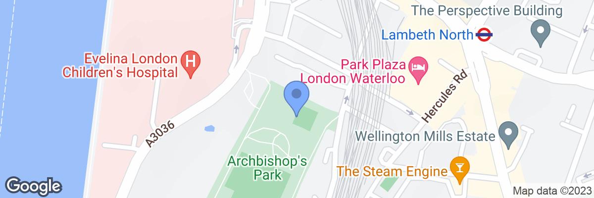 Archbishop's Park, South Bank, SE1 7LE