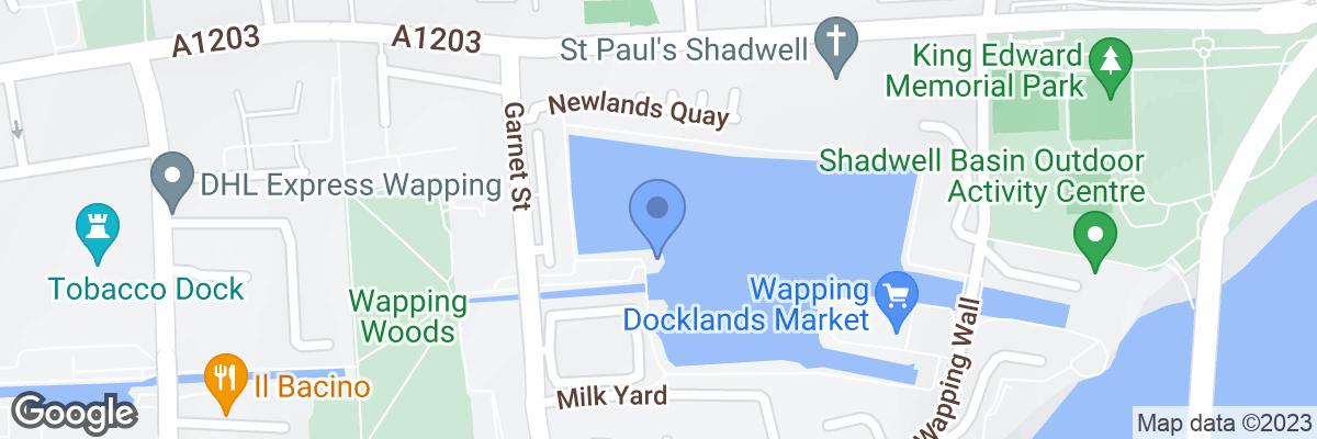 Shadwell Basin, St Katharine's & Wapping, E1W