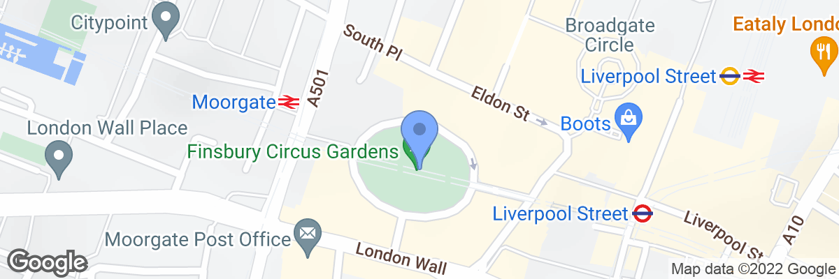 Finsbury Circus, London