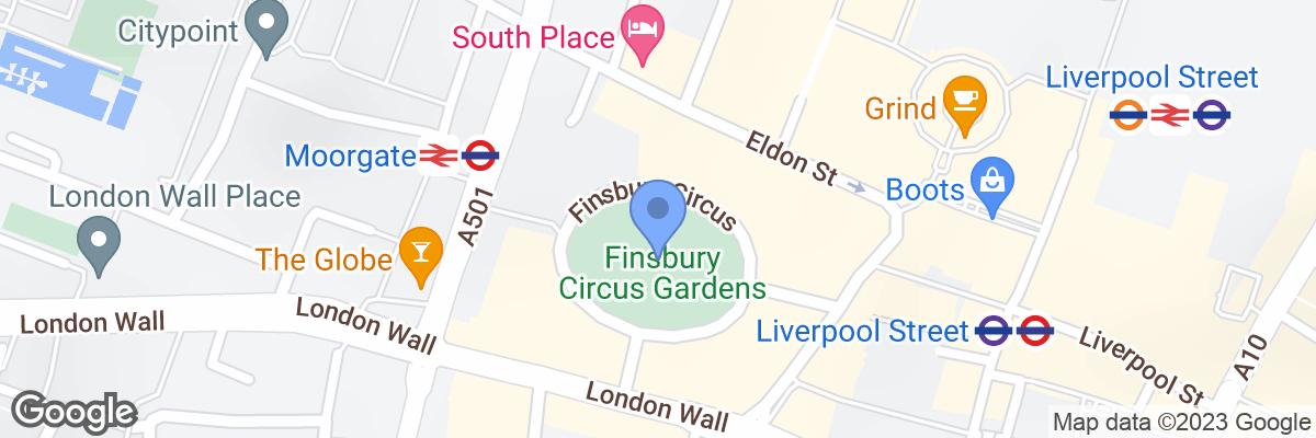Finsbury Circus, London