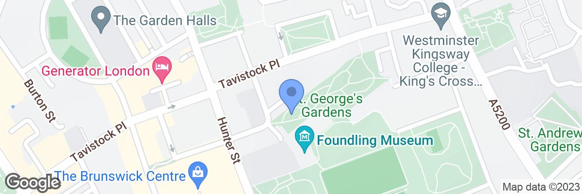 St. George's Gardens, Bloomsbury, WC1H 8HZ