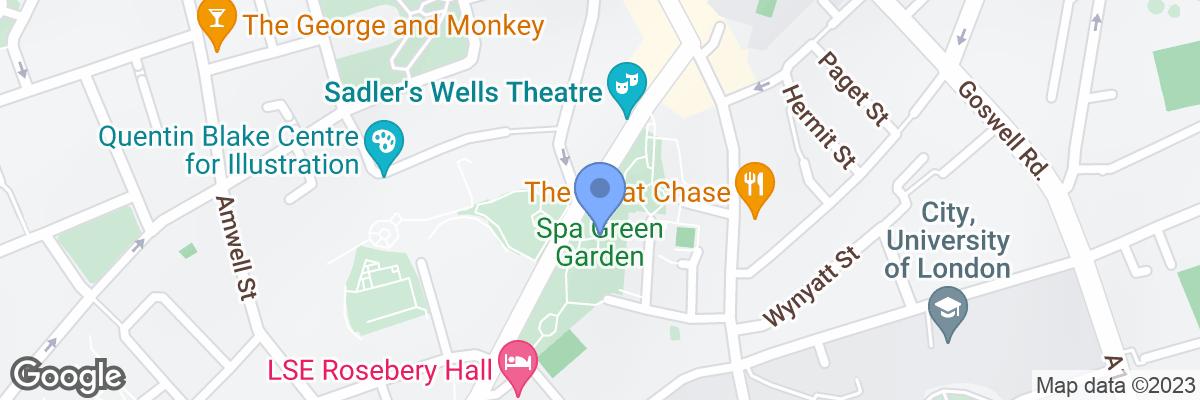 Spa Green Garden, Rosebery Avenue, EC1R 4TY