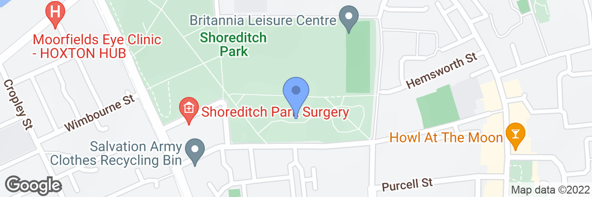 Shoreditch Park, New North Road, N1 5EP