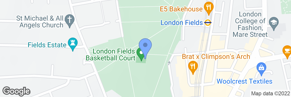 London Fields, Hackney, E8 3EU