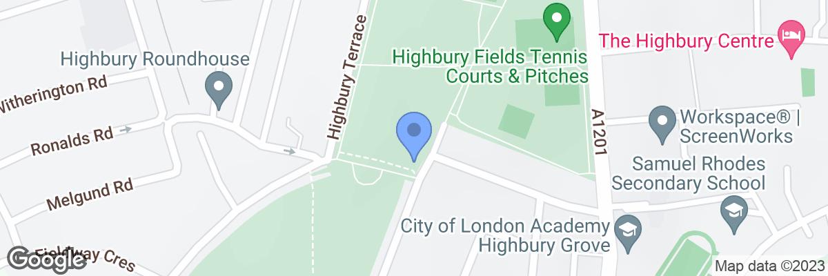Highbury Fields, Highbury East, N5 1AR