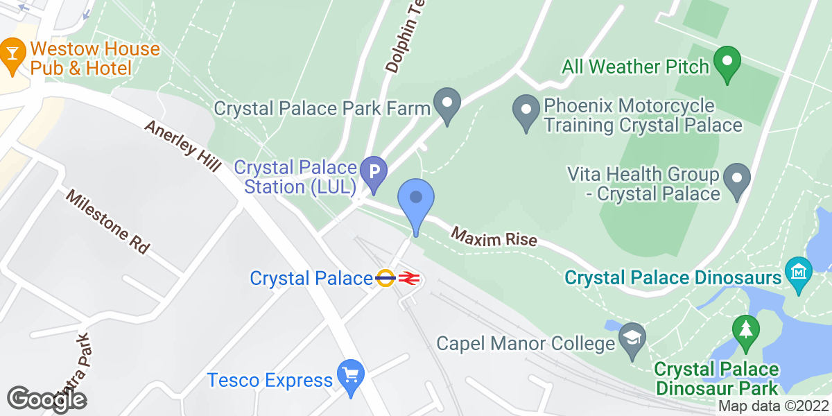 Crystal Palace Station (LUL), London, SE19 2BF