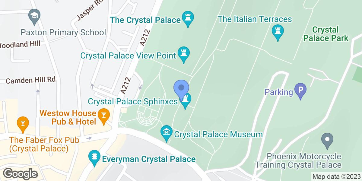Crystal Palace Park, London, SE19 2GA