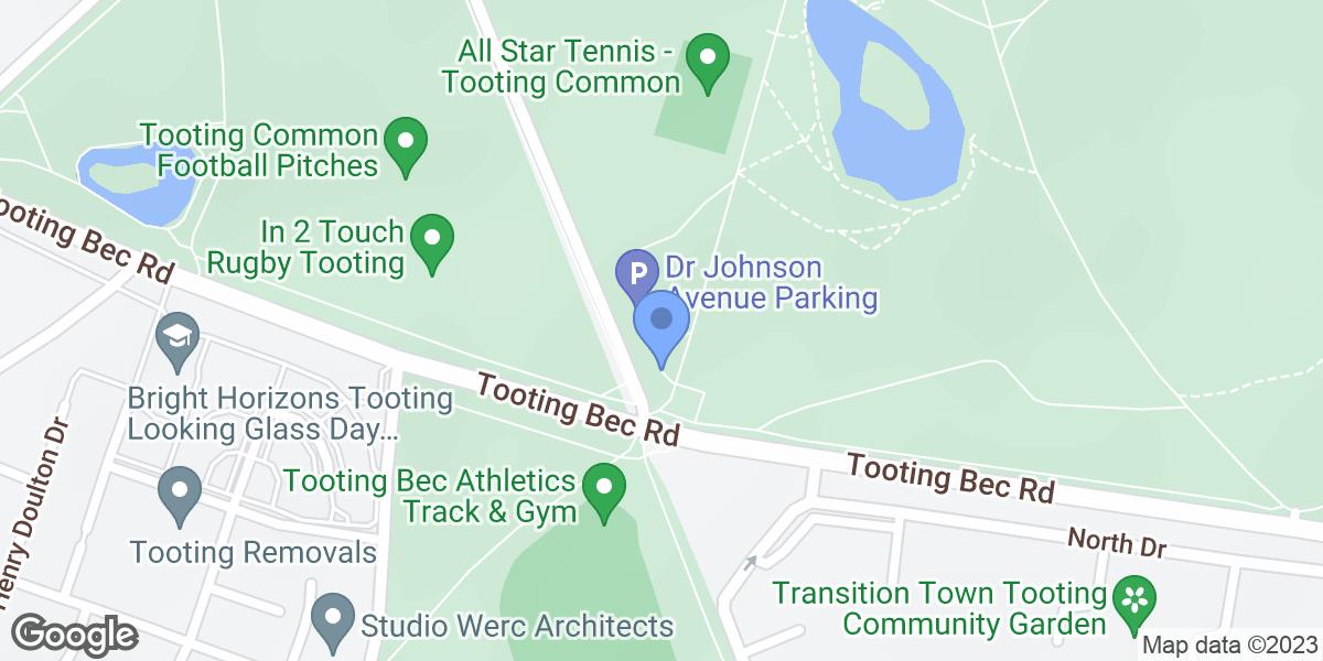 Tooting Common Lake, London, SW16 1RT
