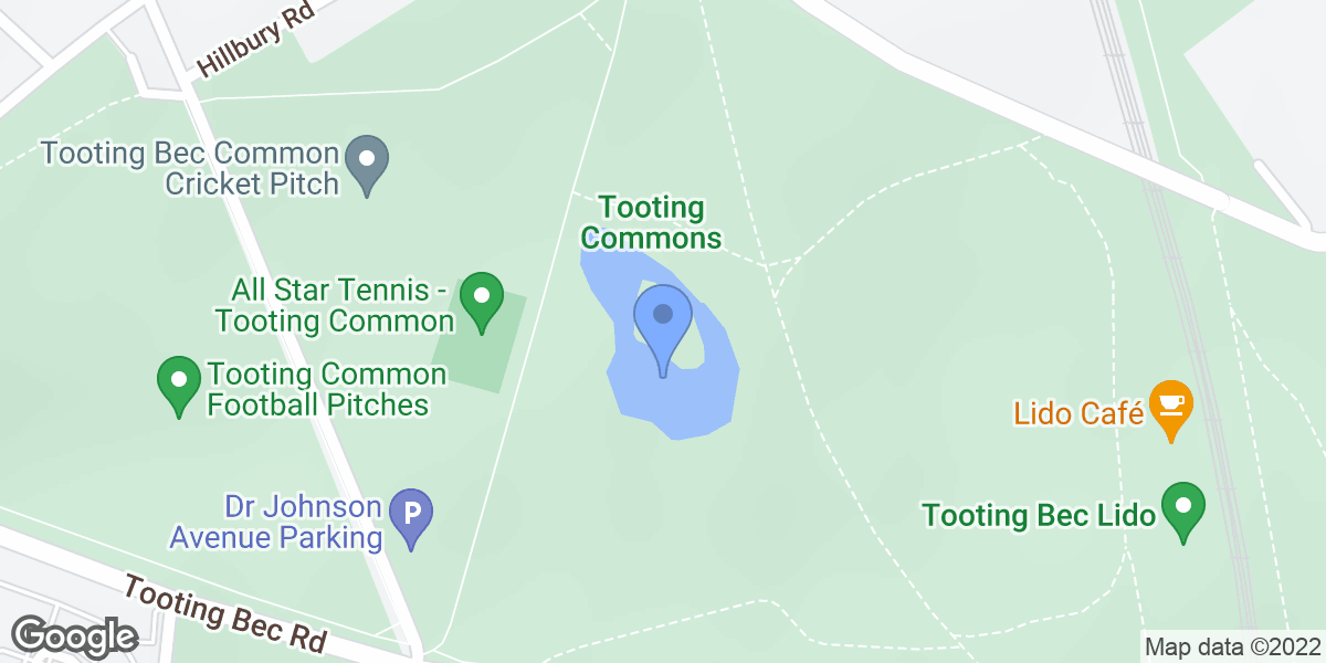 Tooting Common Lake, London, SW16 1RT