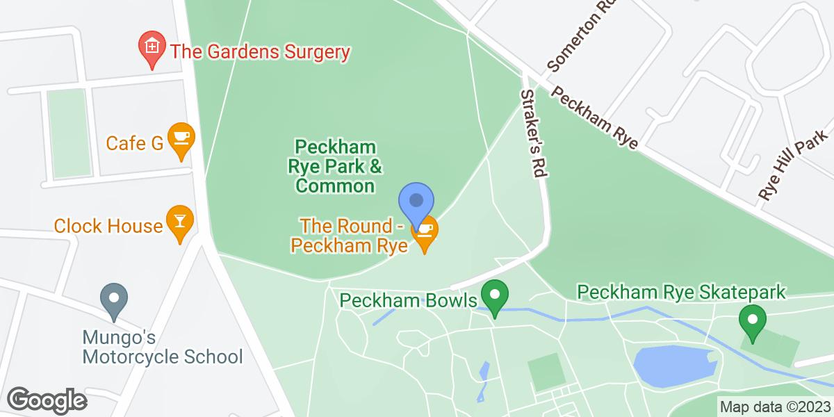 Peckham Rye Playground, London, SE15 3UA