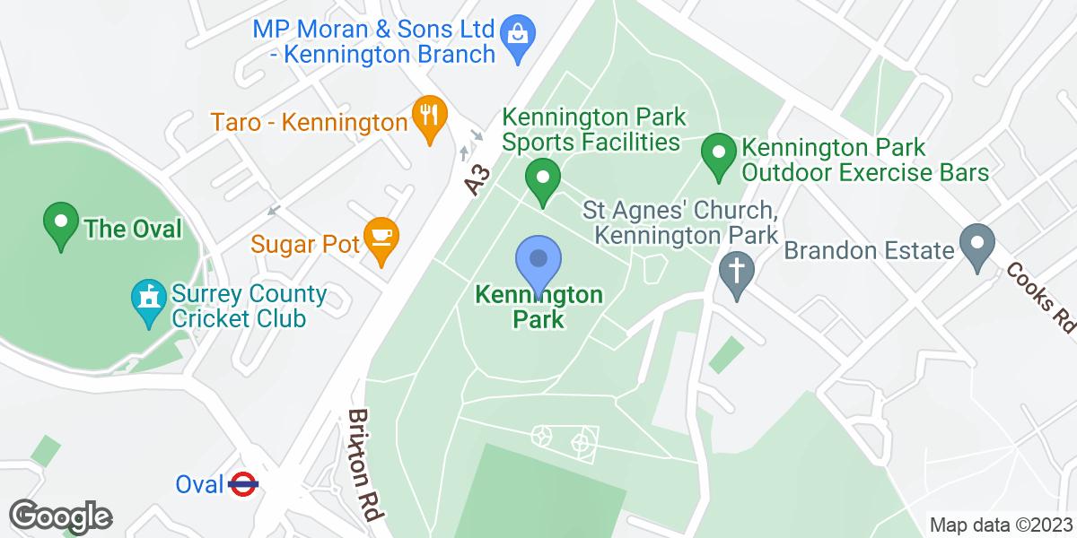 Kennington Park, Oval, SE11 4BE