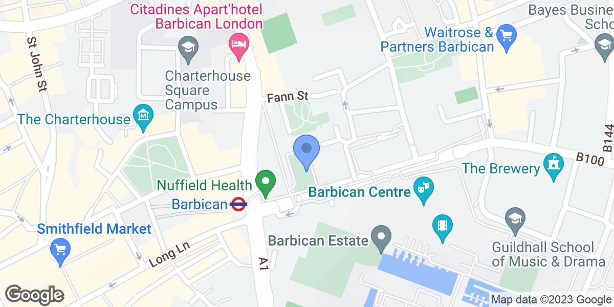 Beech Gardens, Barbican, EC2Y 8DE