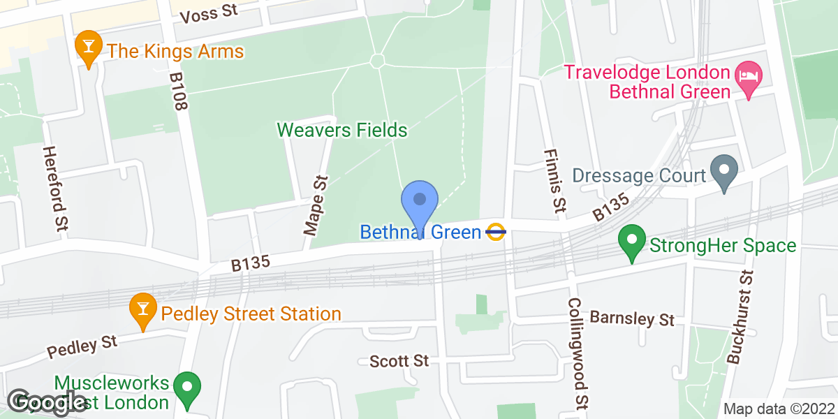Weavers Fields, London, E2 6HD