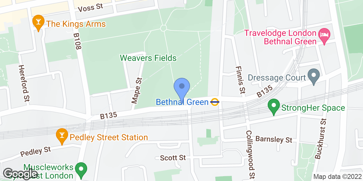 Weavers Fields, London, E2 6HD