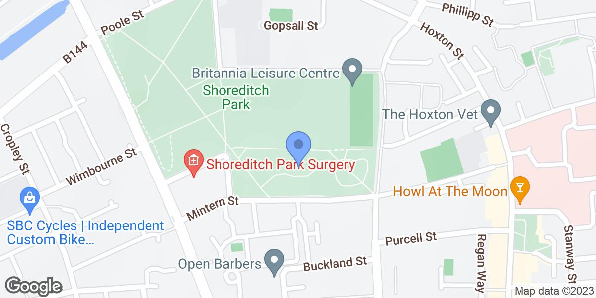 Shoreditch Park, New North Road, N1 5EP
