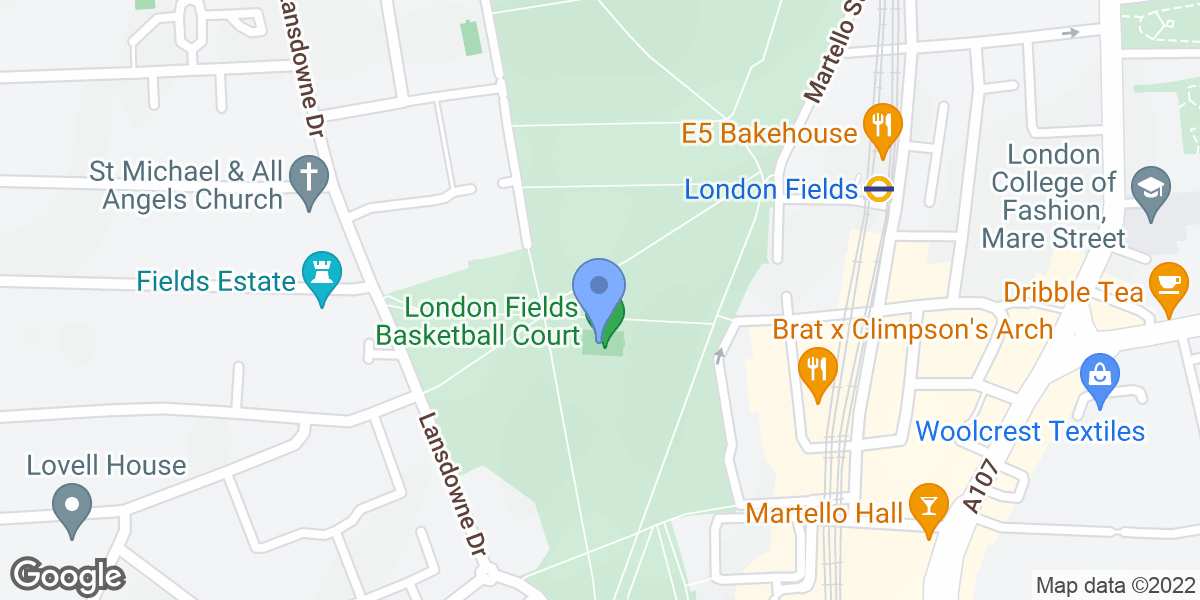 London Fields, Hackney, E8 3EU
