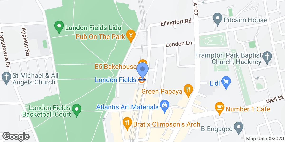 London Fields, London, E8 3PH