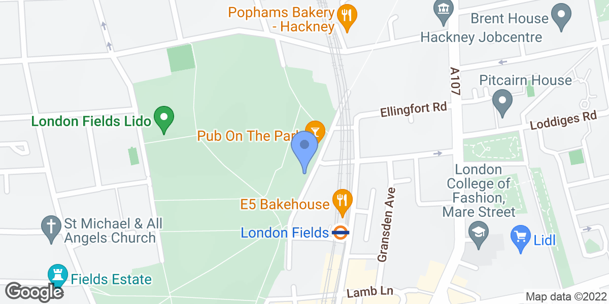 London Fields, Hackney, E8 3PH