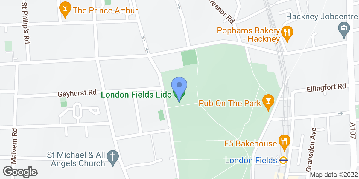London Fields Lido, Hackney, E8 3EU