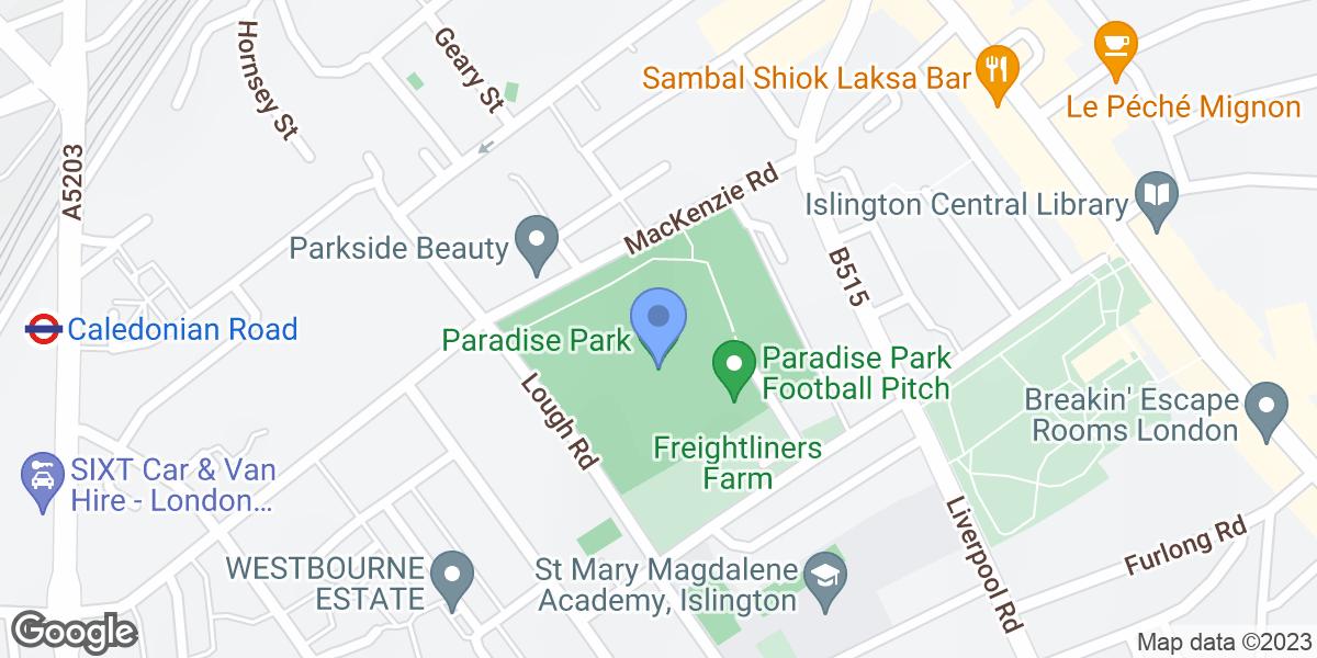 Paradise Park, London, N7