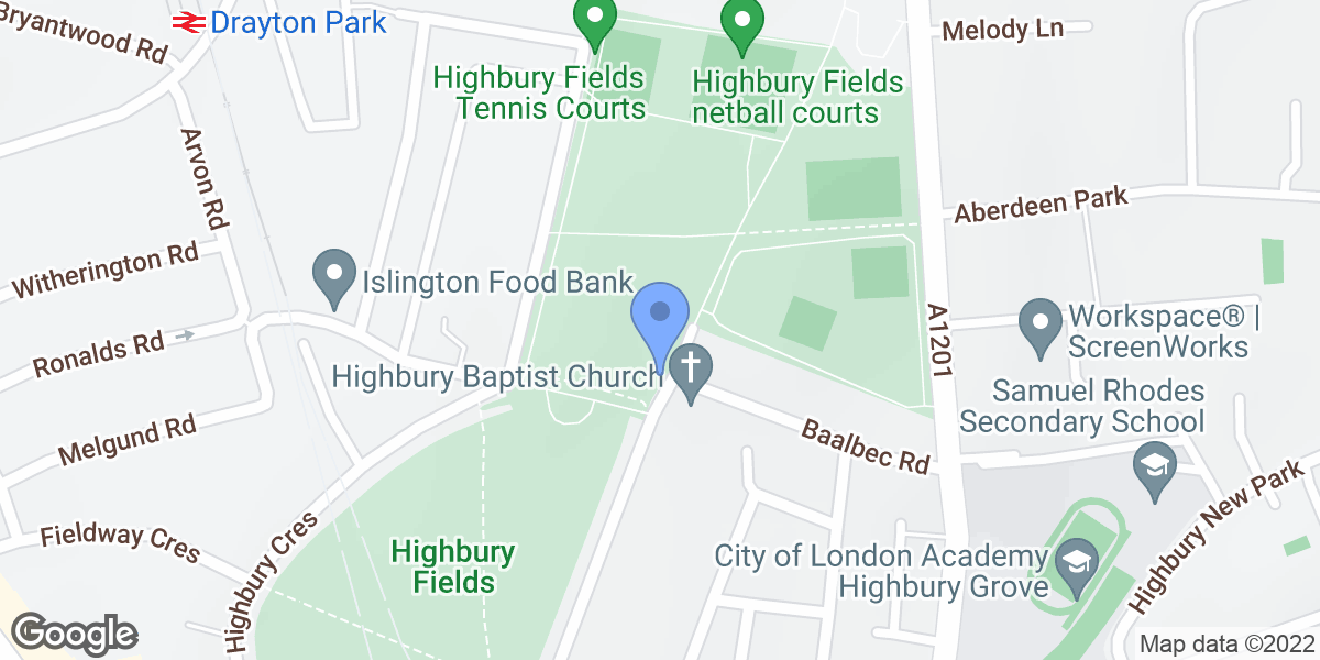 Highbury Fields, Highbury East, N5 1AR
