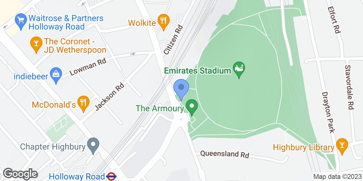 Arsenal Gift Shop, London, N7 7AJ