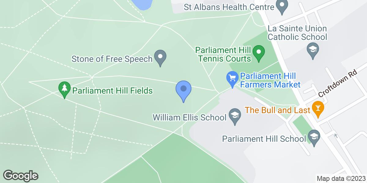 Parliament Hill Bandstand, Highgate, NW5 1QR