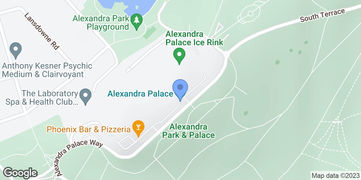 Alexandra Palace, London, N22 7AY