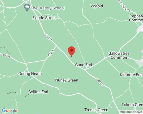 Map for K9 Woodland Services - Oak Park (Private Parkland Hire) Dog-walking field