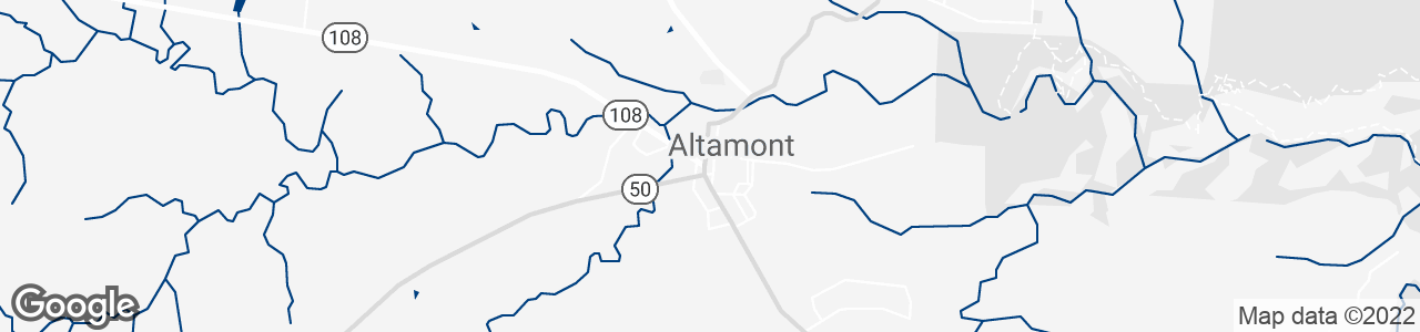 Google Map of Altamont, Tennessee