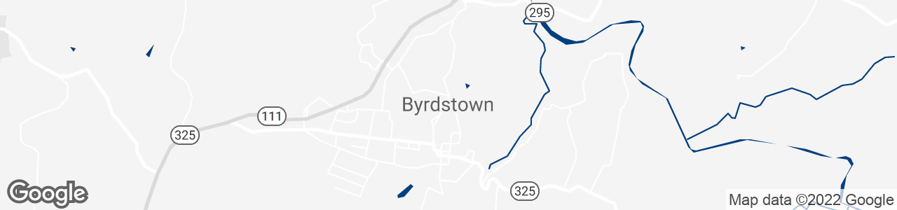 Google Map of Byrdstown, Tennessee