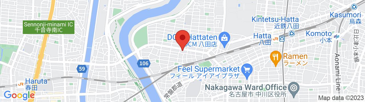 名古屋サービスサテライト 地図