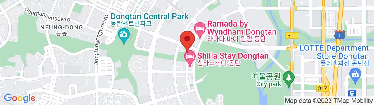 CREST TECHNOLOGIES KOREA 華城オフィス 地図