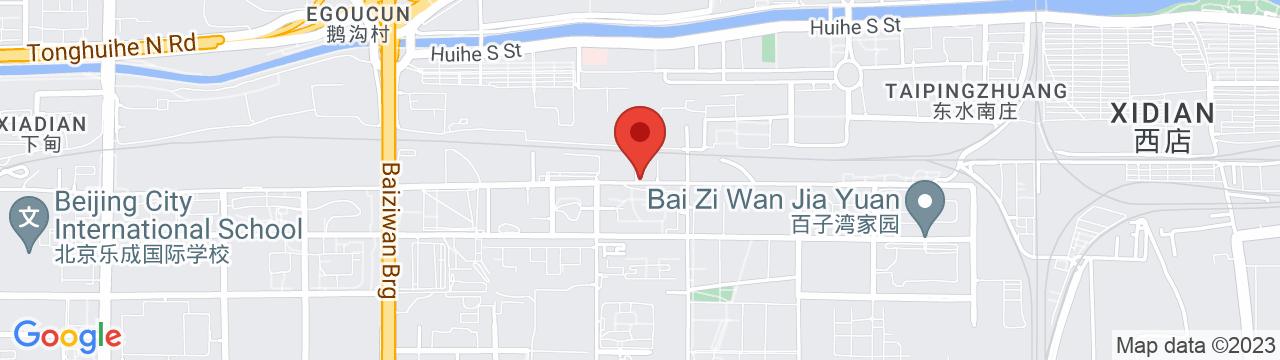 SOLEX CHINA 北京オフィス 地図