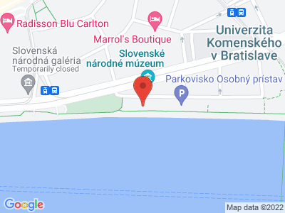 Bratislava passenger port map