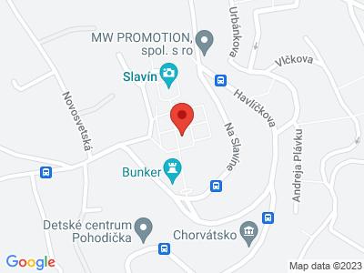 Slavin monument map