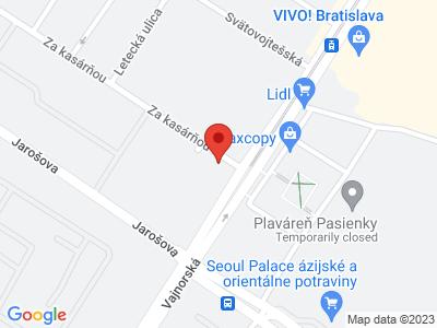 Nové mesto map