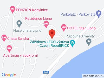 Hopsarium Lipno map