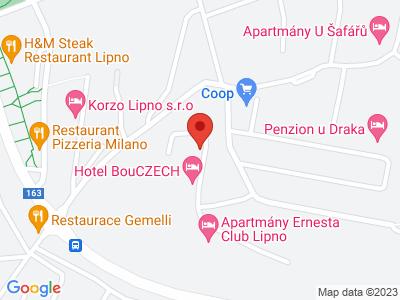 Lipno nad Vltavou map