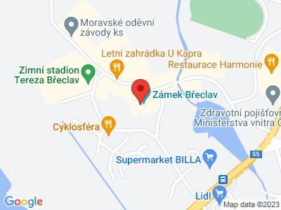 Břeclav (zámek) map
