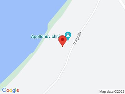 Temple of Apollo map