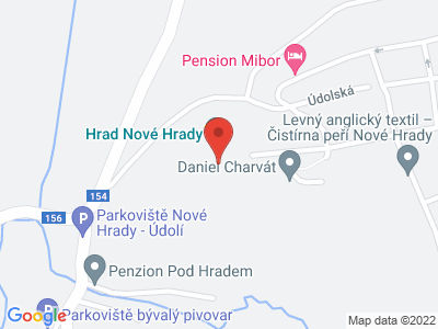 Nové Hrady (hrad) map