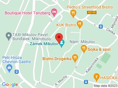 Mikulov (zámek) map